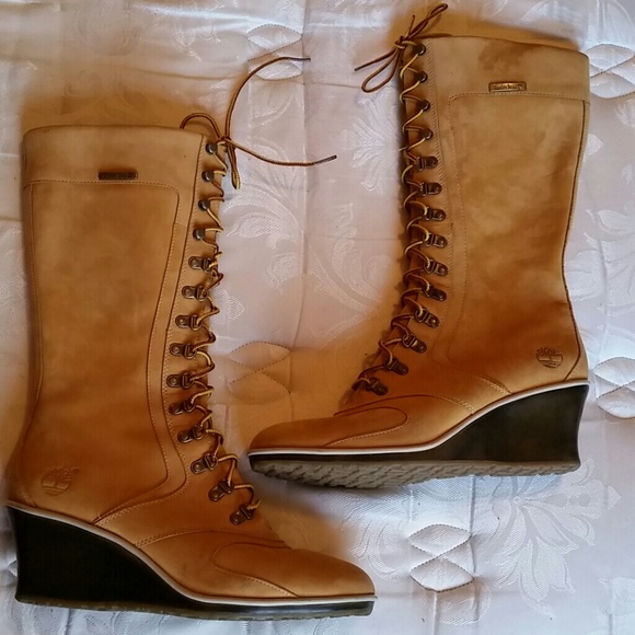 timberland timberland wedge heel boots from s