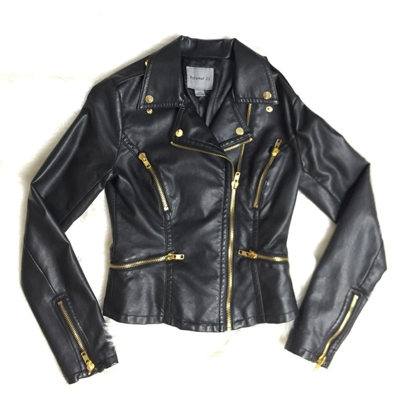 black and gold leather jacket | Gommap Blog