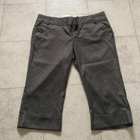 fae3e69f1927 Gray Dressy Capri Pants. M_5505aaa3c7dcbf37d0008ce0