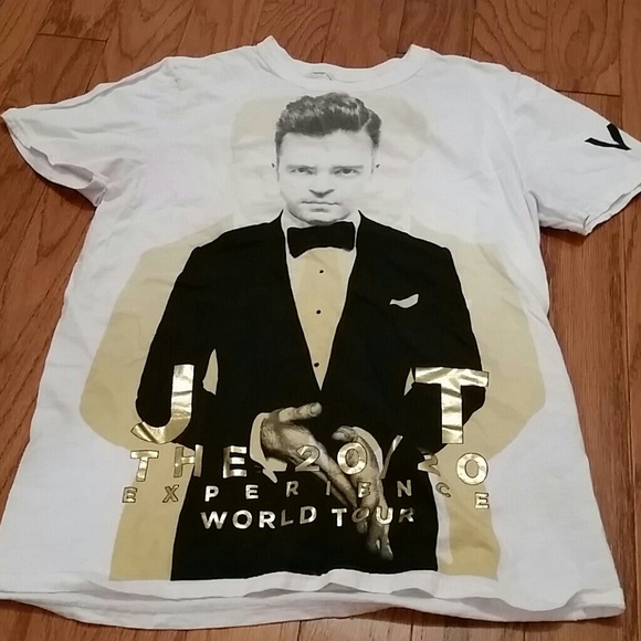 NWOT Justin Timberlake t shirt small