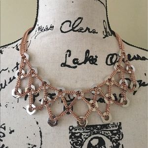 New Marc by Marc Jacobs bolts bib necklace