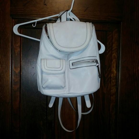 67% off Tignanello Handbags - tignanello white leather backpack ...
