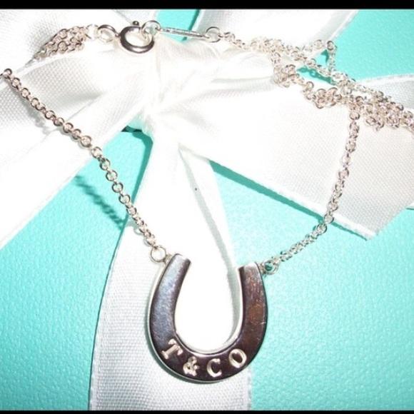 Tiffany Horseshoe Necklace: 77% Off Tiffany & Co. Jewelry
