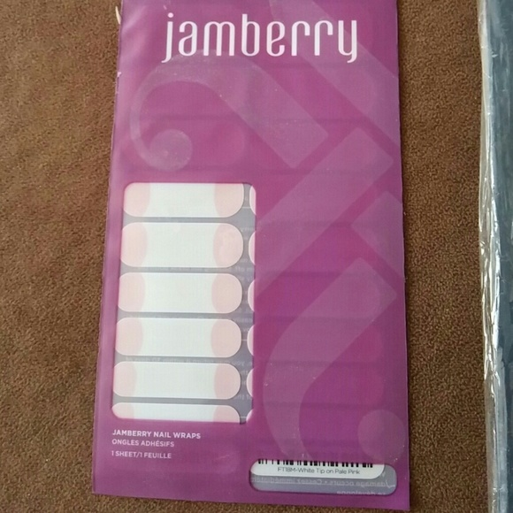 Accessories | Jamberry Nail Wraps French Manicure | Poshmark