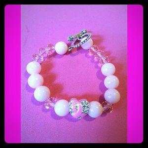 Jewelry - Crystal & Glass Beads Bracelet