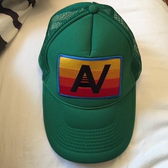 8d4e167d076 Aviator Nation Accessories - Green Aviator Nation Trucker Hat