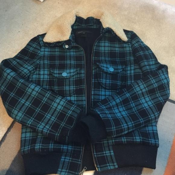 45dccd70d Marc Jacobs plaid bomber jacket