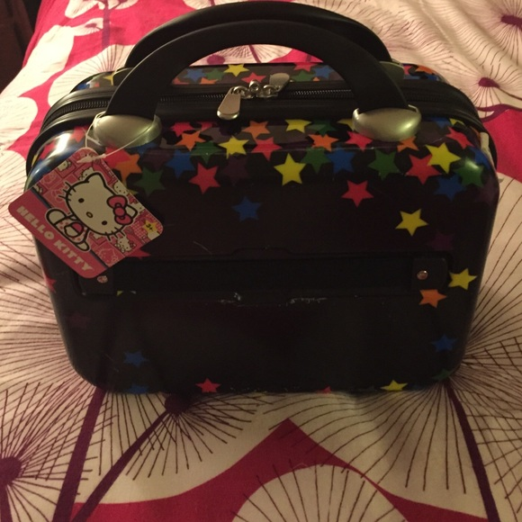 Hello Kitty Squishy Carrying Case : 67% off Sanrio Accessories - NWT Hello Kitty Hard Travel Case from Samantha s closet on Poshmark