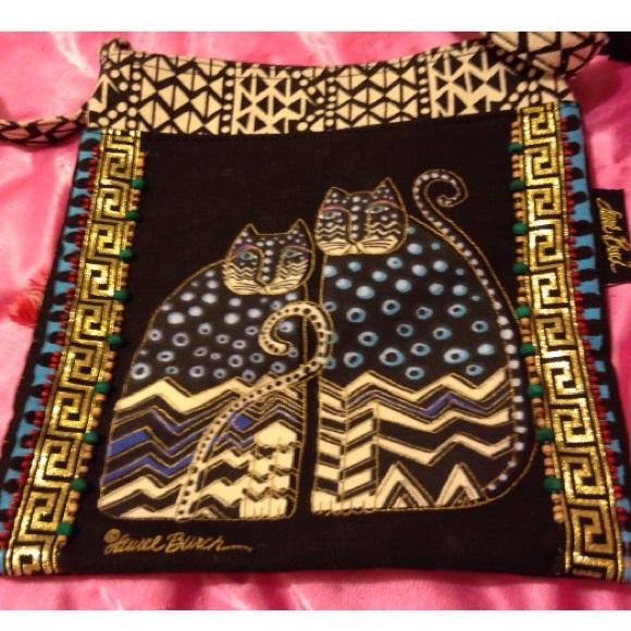 63% off Laurel Burch Handbags - Laurel Burch Cat Bag from Maddie's ...
