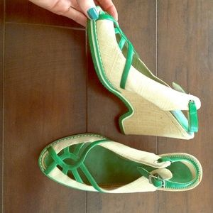 Authentic Marc by Marc Jacobs summer wedge heels!