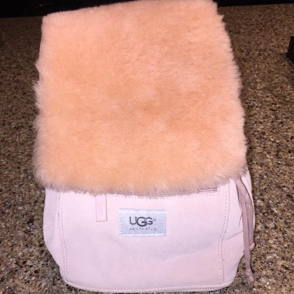 Ugg Bags Pink Mini Backpack Poshmark