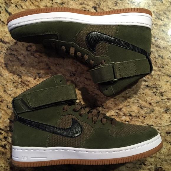 Nike Shoes Womens Air Force 1 Light Military Green New Poshmark