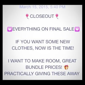 Accessories - 🎈EVERYTHING MUST GO🎈