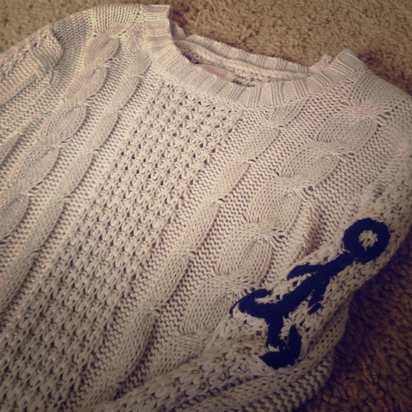 Quicksilver Anchor Sweater BRAND NEW