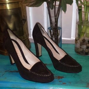 Casadei Shoes - Casadei pretty dark brown shoes