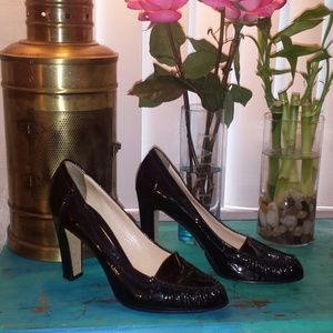 Casadei Shoes - Casadei stunning shiny black shoes