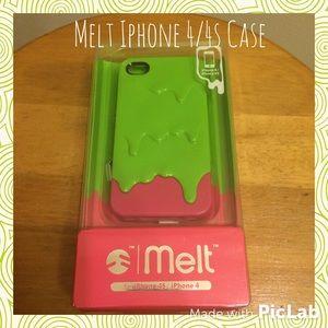 Melt iPhone 4/4s case