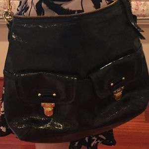 AUTHENTIC COACH PATENT LEATHER CROSSBODY BAG!