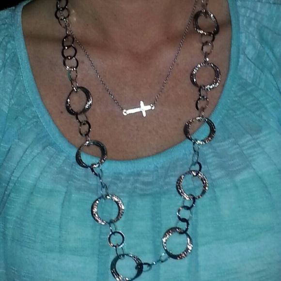 40 versona jewelry versina silver necklace from