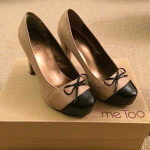me too Shoes - Me Too Lucille heels WORN ONCE!