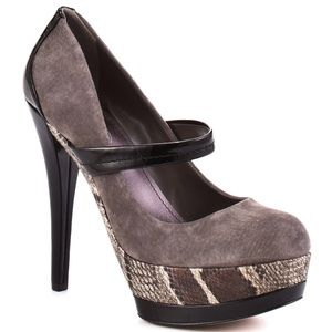 Jessica Simpson Shoes - Jessica Simpson Cheetah Cloud Grey Shoes