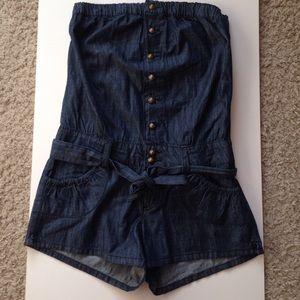 Grane Dresses & Skirts - Denim romper