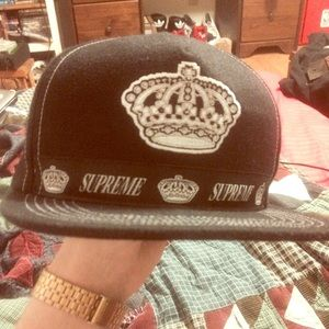 Supreme Accessories - 🚫SOLD🚫Authentic Supreme Kings Crown Hat 5 Panel 6516499cd663
