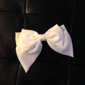 White Bow!