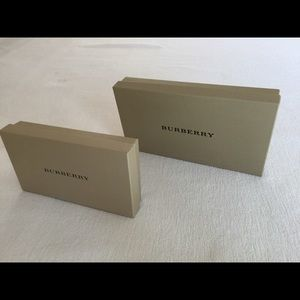 Burberry Other - Burberry Shoppings Bags & Boxes