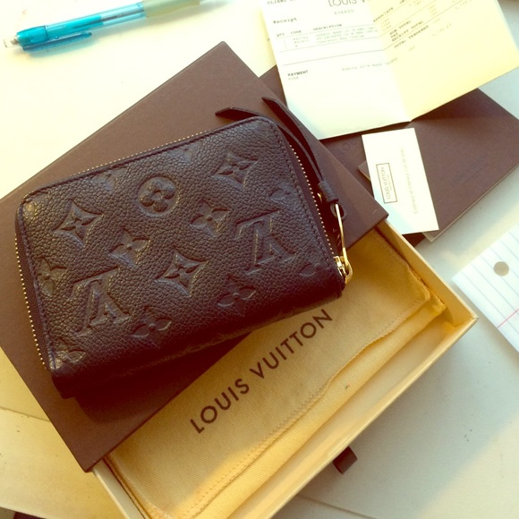 Louis Vuitton Clutches   Wallets - Louis Vuitton compact monogram empreinte  wallet 5d9141750