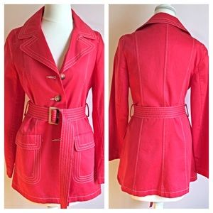 Old Navy Jackets & Coats - OLD NAVY Coral Trench Coat Small