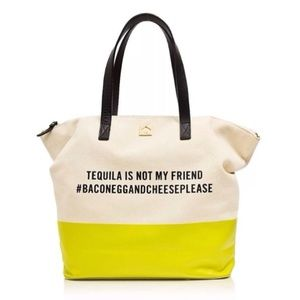 NWT Kate Spade Call To Action Tequila Tote