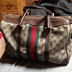 Authentic Gucci Boston vintage bag