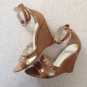 Balenciaga Shoes - 🆕LISTING! Balenciaga camel wedge
