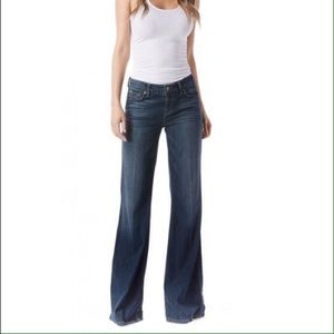 Level 99 Newport Wide-leg jeans in Callaway