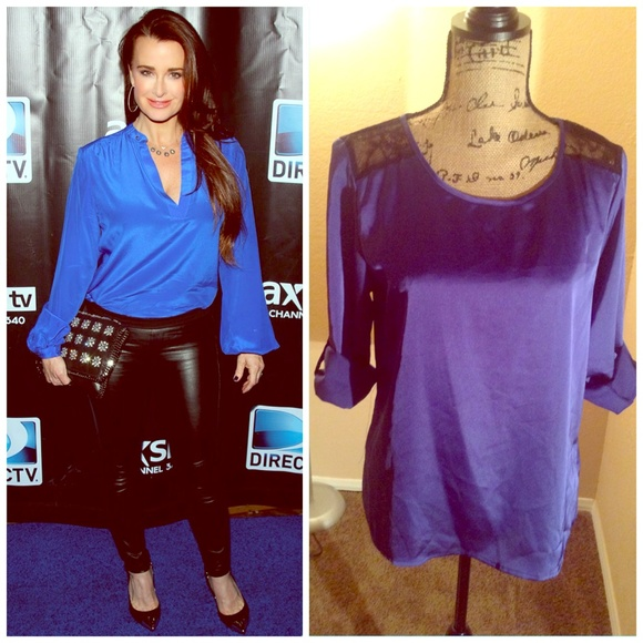 Forever 21 Tops - Blue Silky Top SOLD