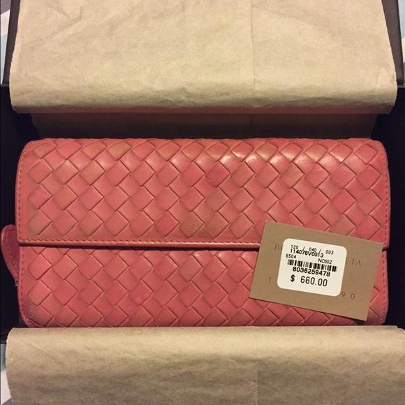 51b4476bd71a7 Bottega Veneta Bags | Authentic Intrecciato Long Wallet | Poshmark