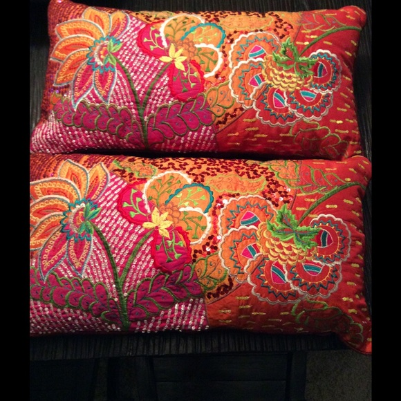 75% off Pier 1 Other - 3 Beautiful throw pillows BUNDLE from Celeste s closet on Poshmark