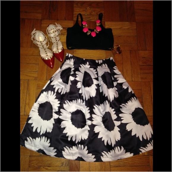 donated sunflower midi skirt s from liseli s closet on