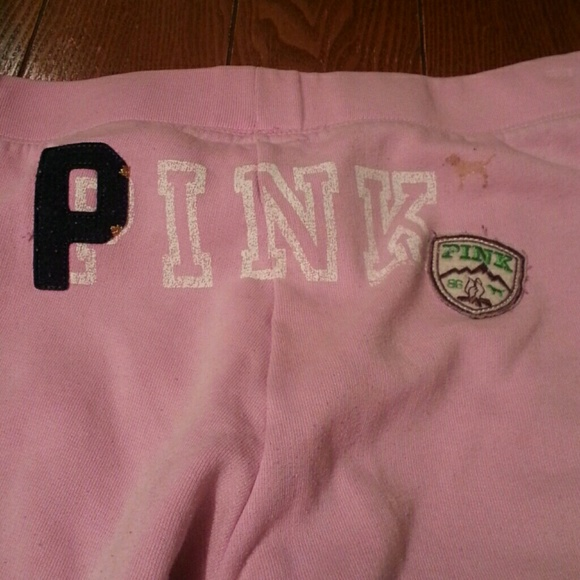 Pink victoria s secret clearance pink sweat pants from sarah s