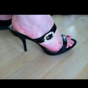 Blossom Shoes - Slip on summer high heel sandals