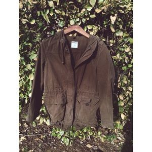 Old Navy Long Bomber Jacket