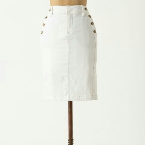58 anthropologie denim level 99 denim pencil skirt