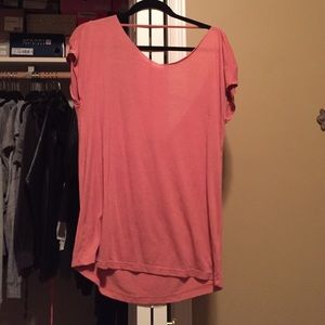 Truly madly deeply open back Tshirt size s
