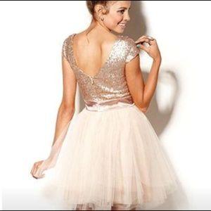 c7f400360bc29 Trixxi Dresses - New plus size dress gold tulle Trixxi 2x 20 tutu