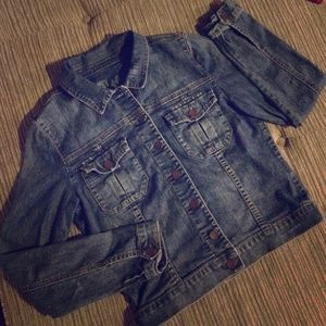 Kut from the Kloth Stretch Denim Jacket