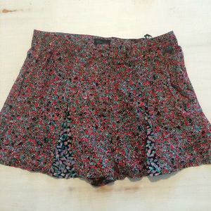 Topshop mixed floral print shorts