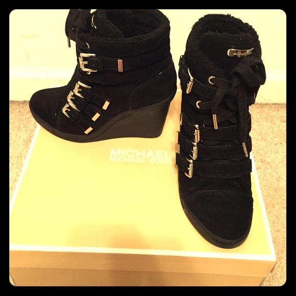 Michael Kors Lizzie Wedge Sneaker
