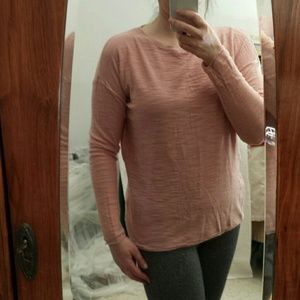 Lightweight Pink sweater/top