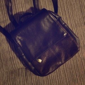 Chocolate Leather Backpack